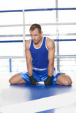 Sportsman warming up. Stock Photography