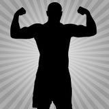 Sportsman Winner Stock Photo