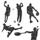 Sportsmen Royalty Free Stock Images