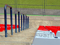 Sportstadion für die nationalen und internationalen Sitzungen Stockbild