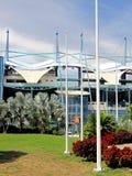 Sportstadion für die nationalen und internationalen Sitzungen Stockbilder