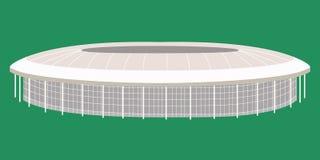 Sportstadion Moskou Stock Foto
