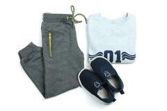Sportswear για το αγόρι Στοκ Εικόνες