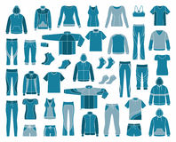 Sportswear Royalty Free Stock Images