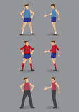 Sportswear for Men Vector Illustration Royalty Free Stock Images