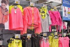 Sportswear store Stock Photo