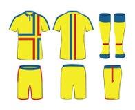 Sportswear vector template Stock Photo