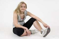 Sportswoman Stock Images