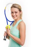 sportswoman Royaltyfri Bild