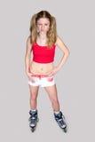 Sportswoman Stockbild