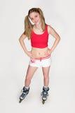 Sportswoman Royalty Free Stock Photography