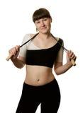 Sportswoman Fotografia de Stock