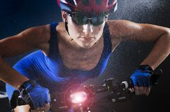 Free Sportswoman Athlete At Mountain Bike From Romania At A Photo Shoot After Winning International Mountain Bike Competitions. 1 Decem Royalty Free Stock Photography - 175551337
