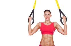 Sportswoman Royalty Free Stock Image