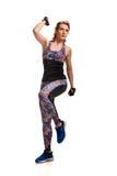 Sportswoman having training Stock Photo