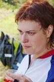 The sportswomen portrait Royalty Free Stock Photography