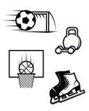 sportsymboler Arkivfoto