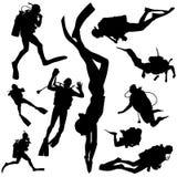 Sporttauchen Stockbilder