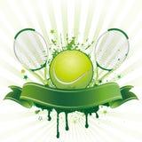 sporttennis stock illustrationer