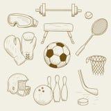 Sportuitrusting Royalty-vrije Stock Afbeelding