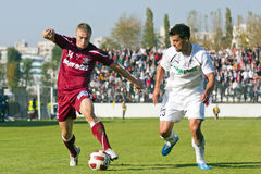 Sportul Studentesc- Rapid Bucharest Stock Photography