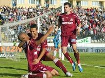 Sportul Studentesc- Rapid Bucharest stockbilder