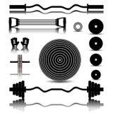 Sportutrustning, vektorillustration Royaltyfri Fotografi