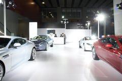 Sportwagen Aston-Martin Lizenzfreie Stockfotos