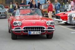 Sportwagen Chevrolet Corvette (C1) Lizenzfreies Stockbild