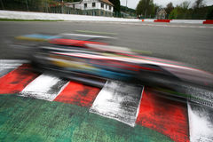 Sportwagen, de REEKS van de WERELD door RENAULT Stock Foto's