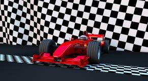 Sportwagen der Formel-1 Stockfotografie