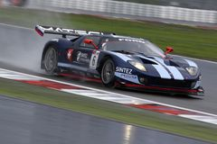 Sportwagen, Doorwaadbare plaats GT Matech (de FIA GT) Stock Fotografie