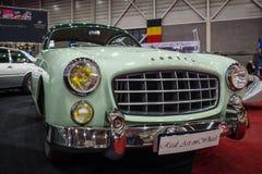 Sportwagen Ford Comete, 1953 De carrosserie werd gebouwd door FACEL stock foto