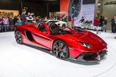 Sportwagen Lamborghinis Aventador Stockbild