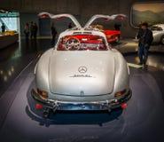 Sportwagen Mercedes-Benz 300 de coupé van SL Gullwing, 1955 Royalty-vrije Stock Afbeelding