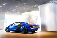 Sportwagen voor verkoop royalty-vrije stock foto's