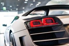 Sportwagen voor verkoop stock fotografie