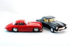 Sportwagenmodel in studiolicht Royalty-vrije Stock Afbeelding