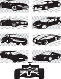 Sportwagens Stock Afbeeldingen