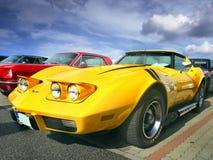 Sportwagens, Chevrolet-Korvet Stock Foto's