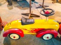 Sportwagenstuk speelgoed Stock Foto's