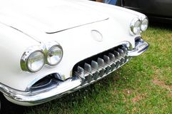 Sportwagenvoorzijde Royalty-vrije Stock Foto's