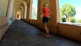 Sportwear kobiety bieg zbiory