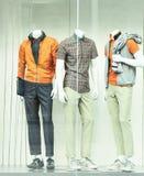 Sportwear mensen Stock Foto