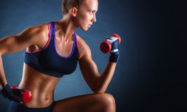 Sportwoman Royalty Free Stock Photos