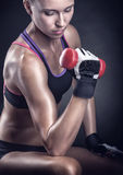Sportwoman Stock Photography