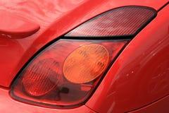 sporty автомобиля красное Стоковые Фотографии RF