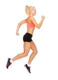 Sporty ход или скакать женщины Стоковая Фотография RF