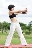 Sporty девушка Стоковое фото RF