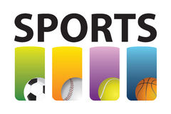 sporty Fotografia Stock